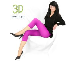 Damen Leggings 7/8 Uta 120 DEN