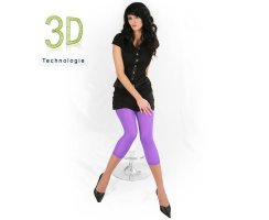 Damen Leggings 7/8 Petra 40 DEN