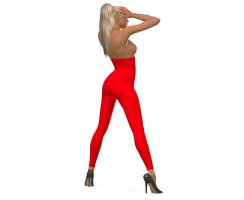 Leggings mit hoher Taille 100 DEN 3D