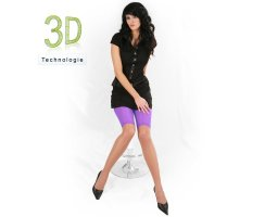 Radler Leggings 3D 40 DEN transparent