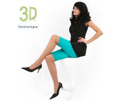 Radler Leggings 3D 60 DEN halbtransparent