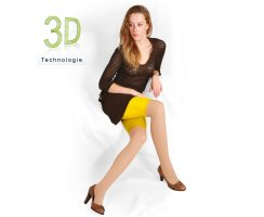 Radler Leggings 3D 80 DEN halbtransparent
