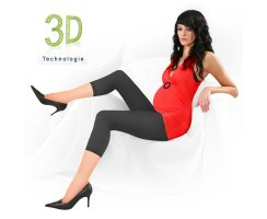 Umstands-Leggings 7/8  D 340 TA 1 U  40 DEN