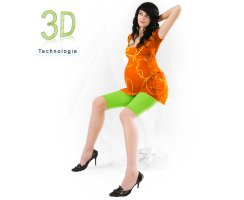 Umstands-Leggings Radler D 3100 TA 3 U  100 DEN