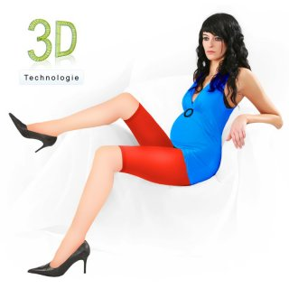 Umstands-Leggings Radler D 380 TA 3 U  80 DEN